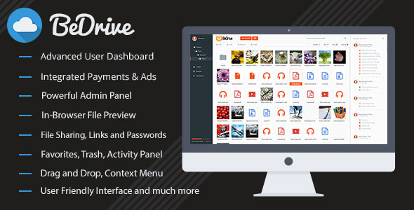 BeDrive v2.0.1 – File Sharing and Cloud Storage