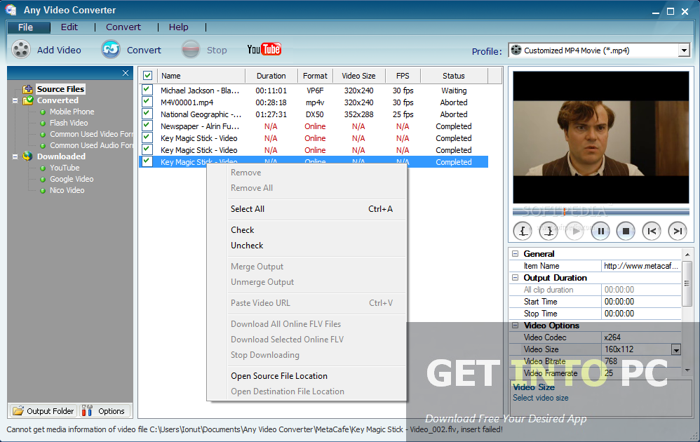 Any Video Converter Professional Free Download
