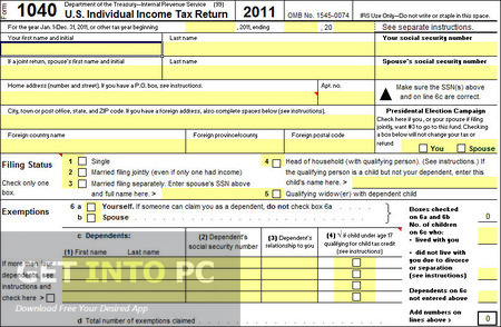Tax Assistant for Excel Professional Free Download
