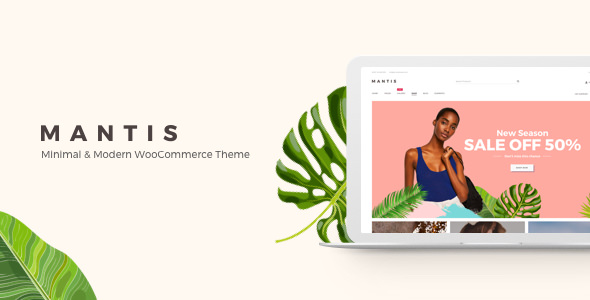 MANTIS V1.0.5 – MINIMAL & MODERN WOOCOMMERCE THEME