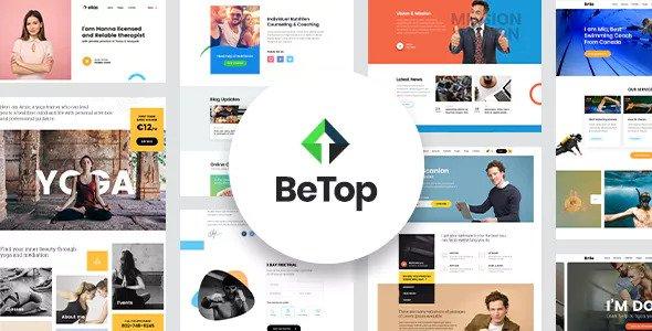 BETOP V1.0.6 – COACHING & SPEAKER WORDPRESS THEME