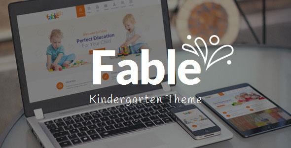 FABLE V3.3 – CHILDREN KINDERGARTEN WORDPRESS THEME