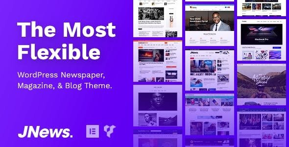 JNEWS V4.0.4 – WORDPRESS NEWSPAPER MAGAZINE BLOG AMP THEME