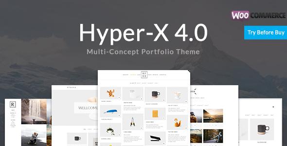 HYPERX V4.8 – PORTFOLIO FOR FREELANCERS & AGENCIES