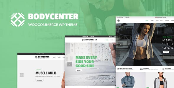 BODYCENTER V1.3 – GYM, FITNESS WOOCOMMERCE WORDPRESS THEME