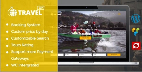 TRAVEL WP V1.6.2 – TOUR & TRAVEL WORDPRESS THEME