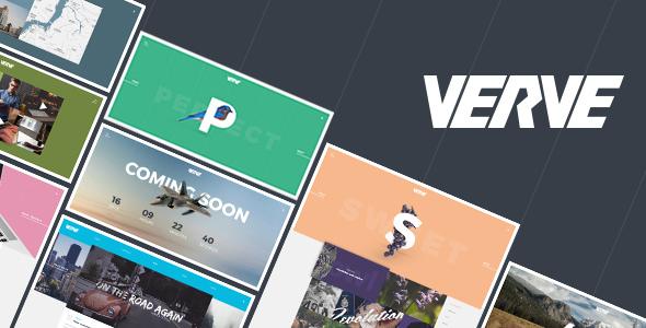 VERVE V1.0 – CREATIVE AGENCY, STUDIO, PERSONAL & PORTFOLIO