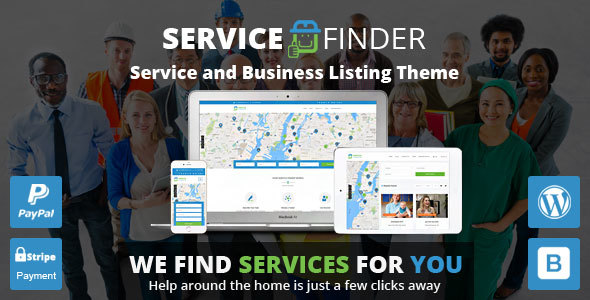 SERVICE FINDER V3.3 – PROVIDER AND BUSINESS LISTING THEME