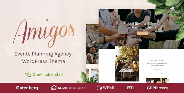 AMIGOS V1.0.2 – PARTY & CELEBRATION EVENT AGENCY