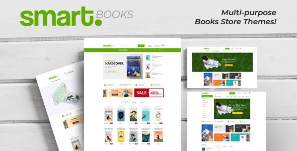 SMARTBOOK – BOOK STORE RESPONSIVE PRESTASHOP THEME