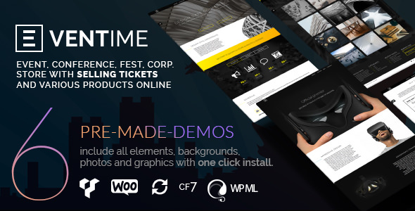 EVENTIME V1.6.1 – CONFERENCE, EVENT, FEST, TICKET STORE THEME