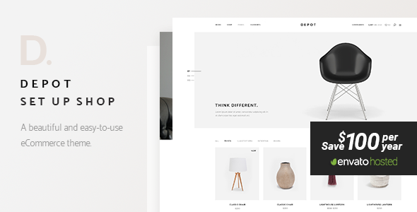 DEPOT V1.3 – A CONTEMPORARY THEME FOR ECOMMERCE