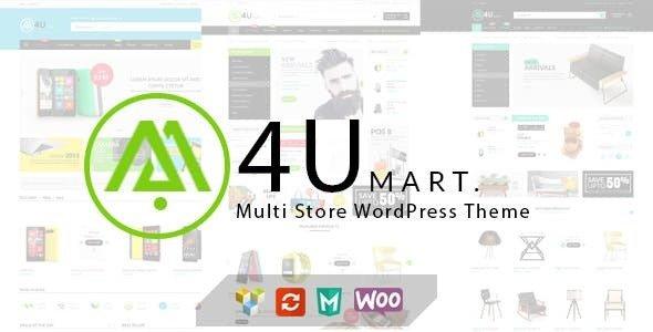 M4U V1.4.2 – MULTI STORE RESPONSIVE WORDPRESS THEME