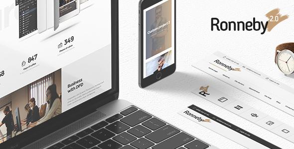 RONNEBY V2.4.9 – HIGH-PERFORMANCE WORDPRESS THEME