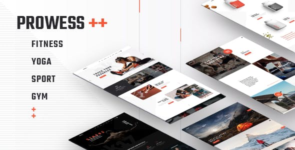 PROWESS V1.5 – FITNESS AND GYM WORDPRESS THEME