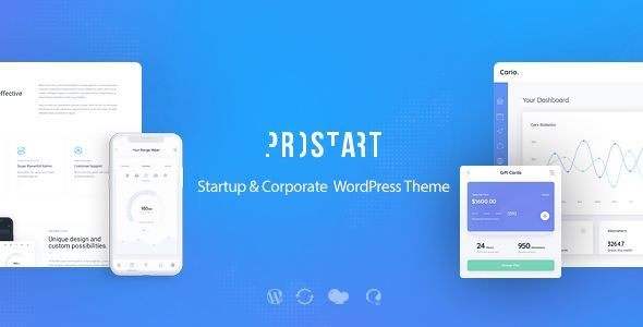 PROSTART V1.1 – STARTUP & CORPORATE WORDPRESS THEME