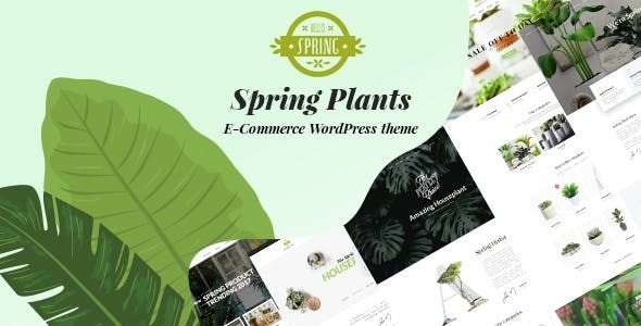 SPRING PLANTS V2.2 – GARDENING & HOUSEPLANTS WORDPRESS THEME