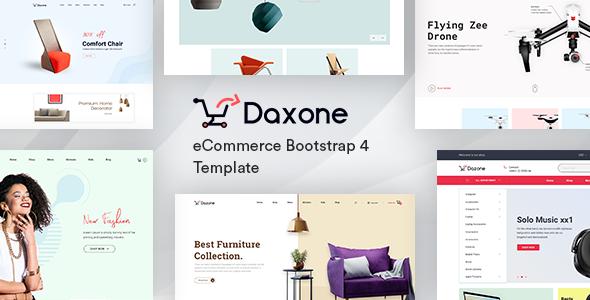 DAXONE V2.0 – ECOMMERCE HTML TEMPLATE