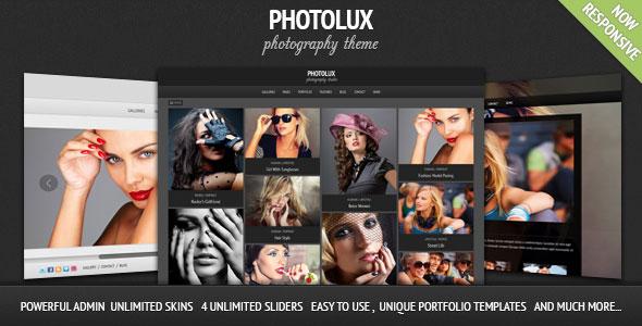 PHOTOLUX V2.3.9 – PHOTOGRAPHY PORTFOLIO WORDPRESS THEME