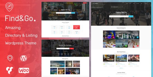FINDGO V1.3.22 – DIRECTORY & LISTING WORDPRESS THEME