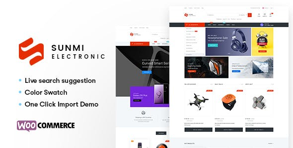 SUMI V1.1.6 – ELECTRONICS WORDPRESS THEME FOR WOOCOMMERCE (RTL SUPPORTED)