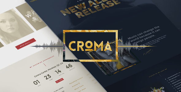 CROMA V3.4.6 – RESPONSIVE MUSIC WORDPRESS THEME