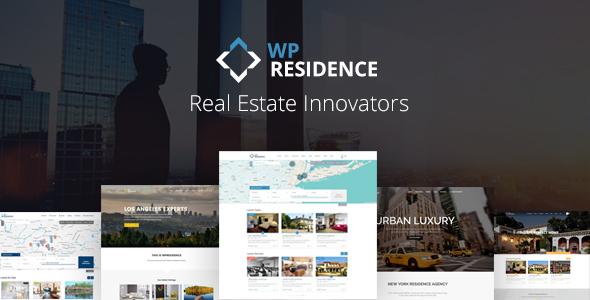 WP RESIDENCE V1.60.3 – REAL ESTATE WORDPRESS THEME