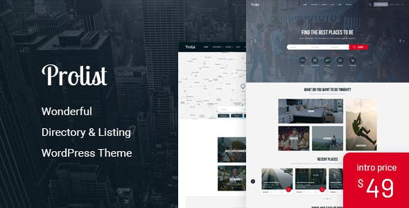 PROLIST V1.17 – DIRECTORY & LISTING WORDPRESS THEME