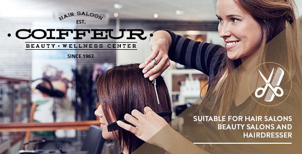 COIFFEUR V4.1 – HAIR SALON WORDPRESS THEME