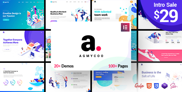 AGMYCOO V1.1 – ISOMETRIC CREATIVE DIGITAL AGENCY