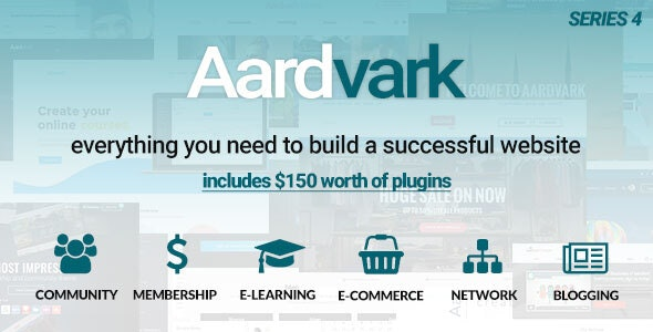 AARDVARK V4.4 – COMMUNITY, MEMBERSHIP, BUDDYPRESS THEME