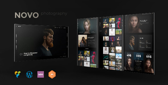 NOVO V2.3.3 – PHOTOGRAPHY WORDPRESS FOR PHOTOGRAPHY