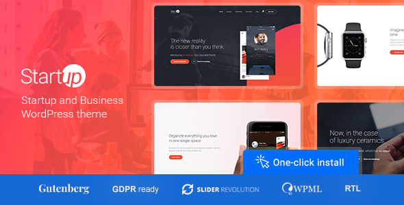STARTUP COMPANY V1.0.9 – THEME FOR BUSINESS & TECHNOLOGY