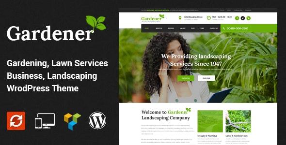 GARDENER V1.5 – LAWN AND LANDSCAPING WORDPRESS THEME