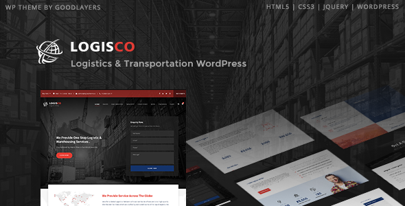 LOGISCO V1.0.1 – LOGISTICS & TRANSPORTATION WORDPRESS