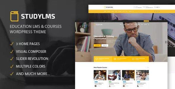 STUDYLMS V1.4 – EDUCATION LMS & COURSES THEME