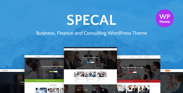 SPECAL V1.6 – FINANCIAL, CONSULTING WORDPRESS THEME