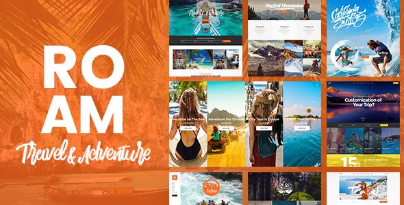 ROAM V1.2 – TRAVEL AND TOURISM WORDPRESS THEME