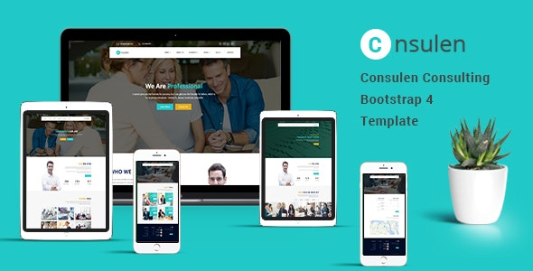 CONSULEN – CONSULTING BUSINESS BOOTSTRAP4 TEMPLATE