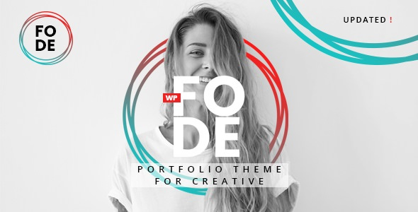 FODE V1.0.0 – PORTFOLIO THEME FOR CREATIVES