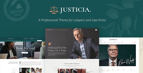 JUSTICIA V1.1 – LAWYER AND LAW FIRM THEME