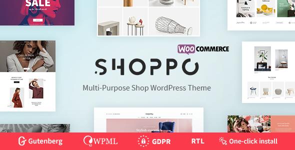SHOPPO V1.0.1 – MULTIPURPOSE WOOCOMMERCE SHOP THEME
