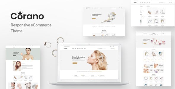 CORANO V1.0 – JEWELLERY OPENCART THEME (PAGE BUILDER LAYOUTS)