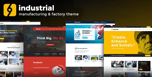 INDUSTRIAL V1.2.6 – CORPORATE, INDUSTRY & FACTORY