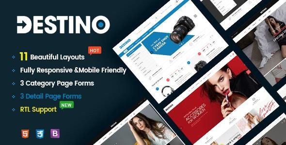 DESTINO V1.0 – RESPONSIVE & MULTI-PURPOSE HTML5 TEMPLATE