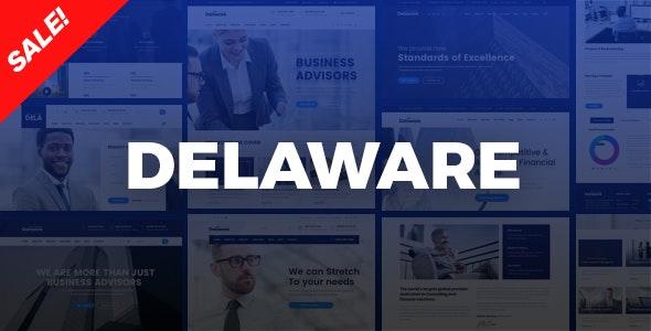 DELAWARE V1.0.0 – CORPORATE COMPANY, CONSULTING HTML TEMPLATE