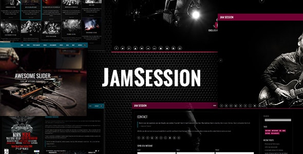 JAMSESSION V4.8.8 – MUSIC & MUSIC BAND WORDPRESS THEME