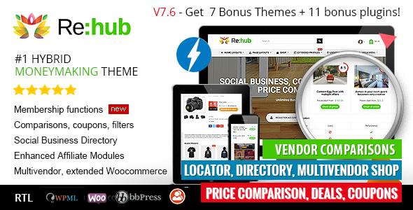 REHUB V7.7.3 – PRICE COMPARISON, BUSINESS COMMUNITY