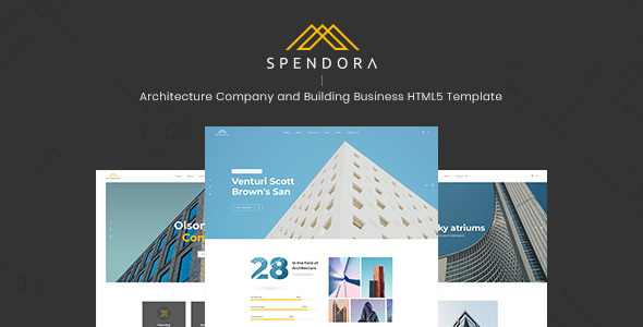 SPENDORA – ARCHITECTURE AND BUILDING BUSINESS HTML TEMPLATE