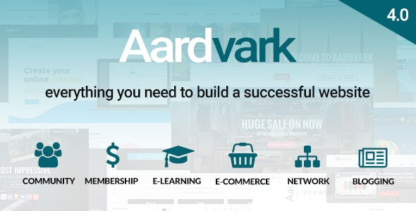 AARDVARK V4.2 – COMMUNITY, MEMBERSHIP, BUDDYPRESS THEME